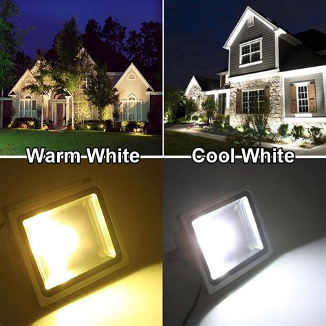 landscape flood light vs spotlight led floodlight 10w 20w 30w 50w waterproof ip65 led outdoor