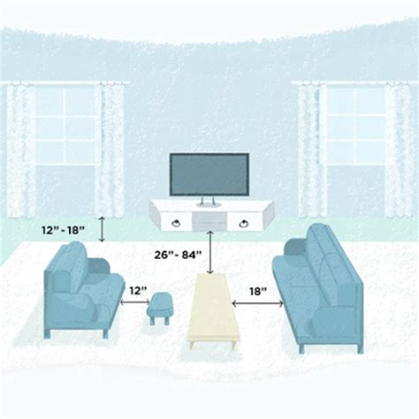 distance between tv and sofa living room design tips vern yip