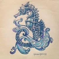 bonnie blue tattoo bonny polynesian style diving water animal design
