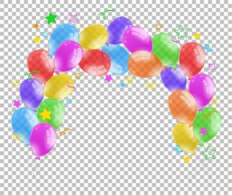 imagenes de globos sin fondo globos coloridos sobre fondo transparente descargar