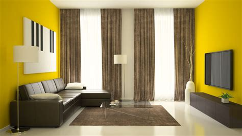 yellow interior living room paint colors for 2018