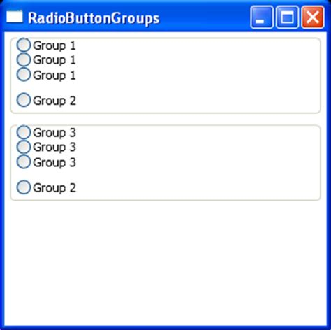 tutorial java radio button color animate based on radio button click event