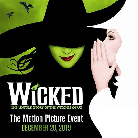 wicked imdb wicked movie sets december 20 2019 release date