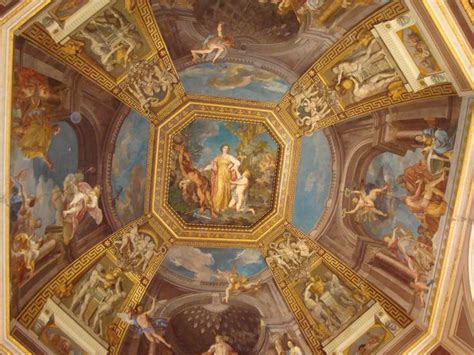 ceiling vatican museum photography