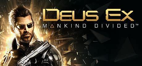 Deus Ex Mankind Divided Steam Original Pc deus ex mankind divided on steam pc hrk