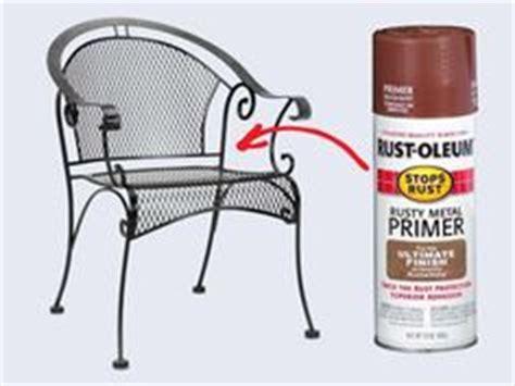restore metal outdoor furniture    gardening