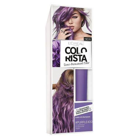 loreal semi permanent hair color l oreal colorista semi permanent hair color for