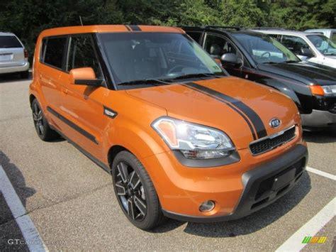 Orange Kia Soul 2010 Ignition Orange Kia Soul Ignition Special Edition