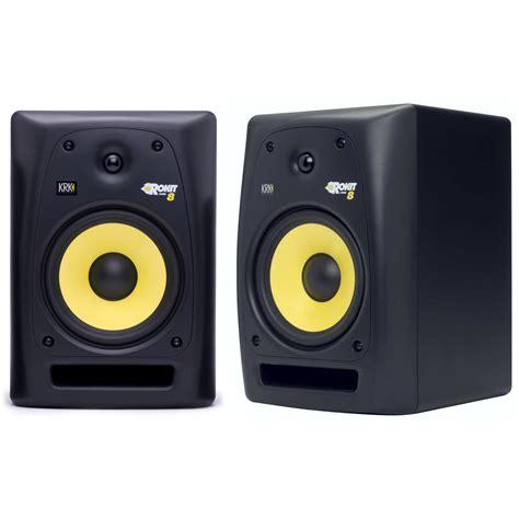 Speaker Krk 2 x krk rokit 8 powered active monitor studio speaker 8 inch 8 quot rockit rp8 g2 ebay