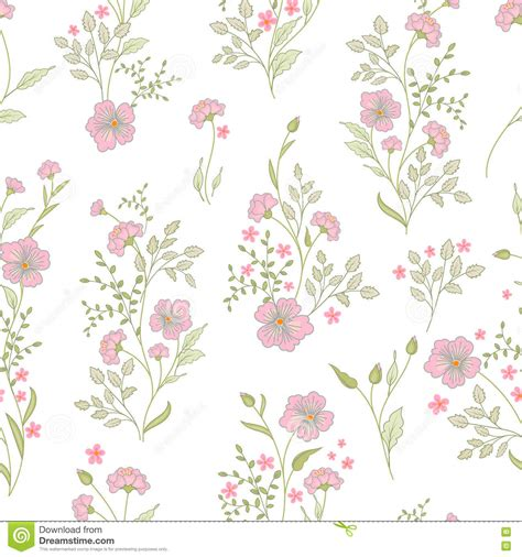 clipart vintage style floral pattern small flower pattern vintage floral seamless background
