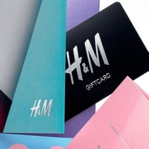Gift Card H M - free sle 6 h m gift card from wrapp allyou com