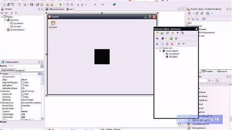 tutorial glscene delphi delphi tutorial 3d spiele programmieren 01 youtube