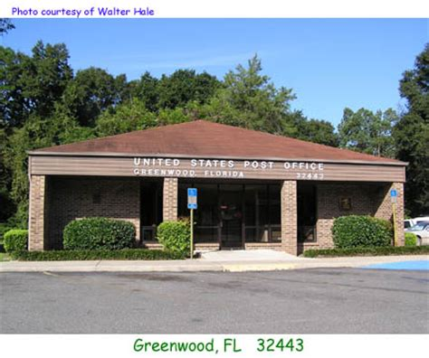 Post Office Greenwood by Florida Post Offices