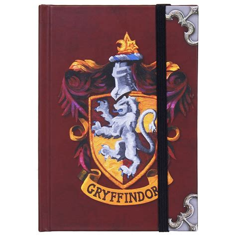 harry potter gryffindor ruled notebook books harry potter gryffindor notebook temptation gifts