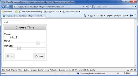 jquery tutorial timer jquery timepicker exle phpsourcecode net