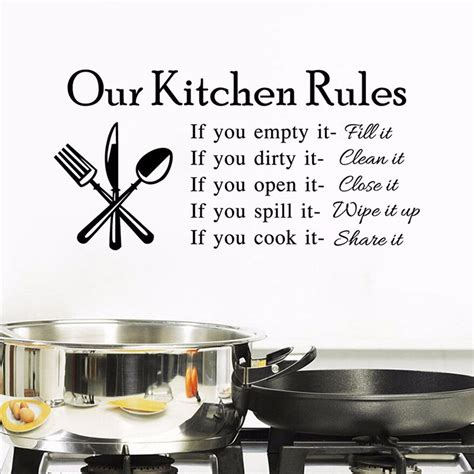 Wall Stiker Vintage L Xl8198 Stiker Dinding Wall Sticker our kitchen wall stickers free shipping worldwide