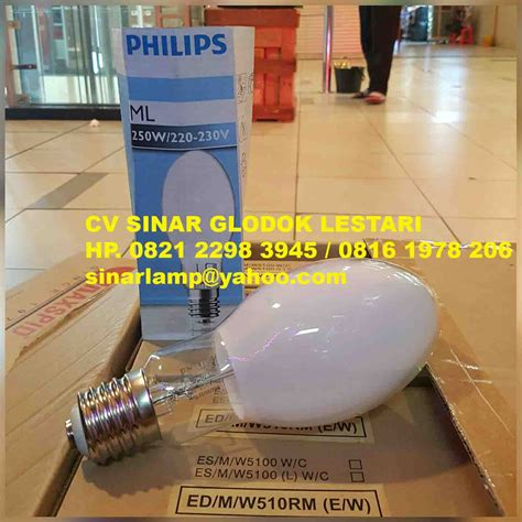 Lu Philips Ml 250 Watt lu philips ml 250w e40 220 230v