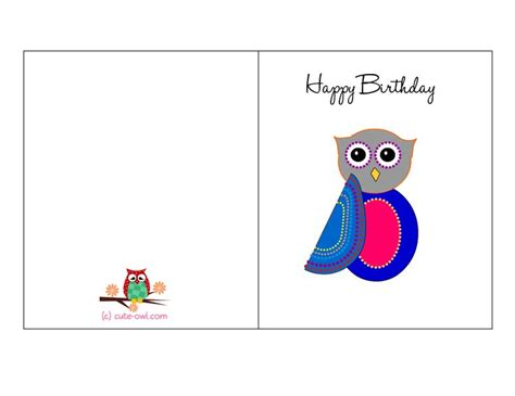 free card stuff 15 best images about free printable owl birthday stuff on