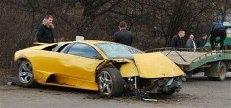 Yellow Lamborghini Crash Lamborghini Murcielago Crashes Galore Autoblog Nl