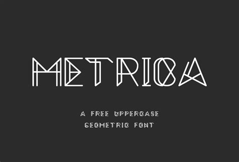 pattern font online metrica free font download graphicsfuel
