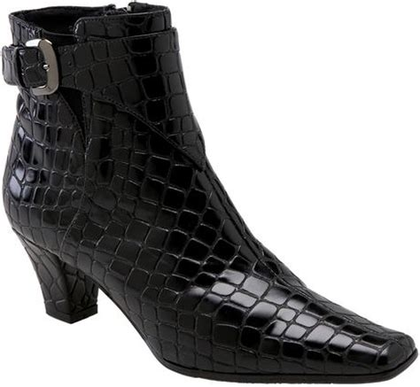 J Renee Tiaga Ankle Boot In Spots And Stripes by J Rene 233 Shayla Ankle Boot In Black Lyst