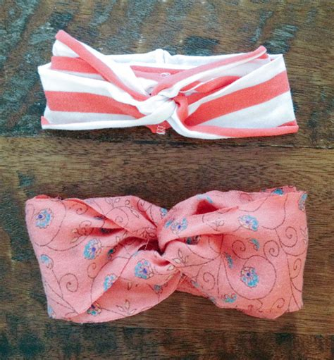 turban bow tutorial 25 adorable easy to make baby accessories
