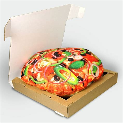 pizza bed pizza pillow