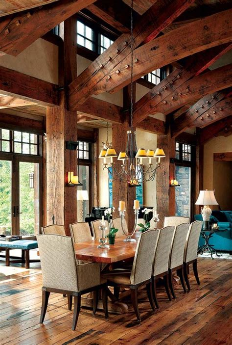 amazing of best luxury rustic house interior decor in rus 40 most amazing dining spaces featured on 1 kindesign for 2016