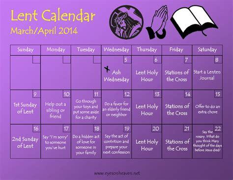 make your own lent calendar 61 best lent images on catholic crafts