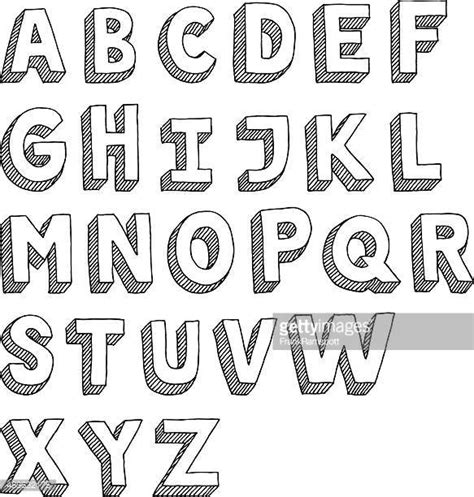 drawing vector graphics hand lettering illustrations et dessins anim 233 s de lettre majuscule