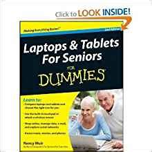 for seniors for dummies books laptops and tablets for seniors for dummies 2nd second