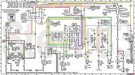 1974 bronco wiring diagram wiring diagram with description