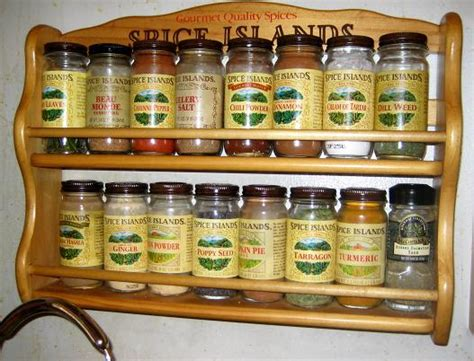 Spice Islands Spice Rack by Eg Foodblog David Ross Black Pearls Of Gold Food