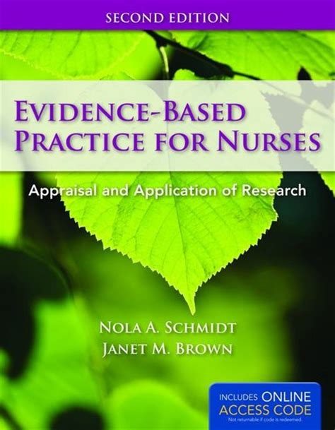 evidence based practice for nurses appraisal and application of research books test bank evidence based practice for nurses appraisal and