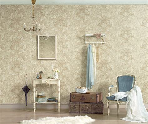 wallpaper for walls bd floral structures wallpaper in blue and neutrals design by