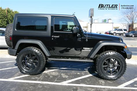 Black And Wheels Jeep Wrangler Jeep Wrangler With 20in Black Rhino Glamis Wheels