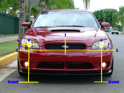 subaru headlight names headlight aiming basics for subarus some basic headlight