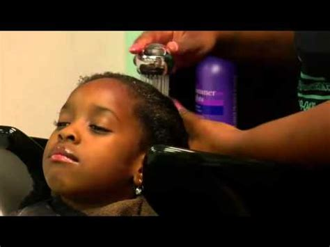 video hair style video how to style african american kids hair youtube
