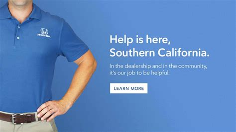 Help Is Here Zafucom by Southern California Honda Dealers Association