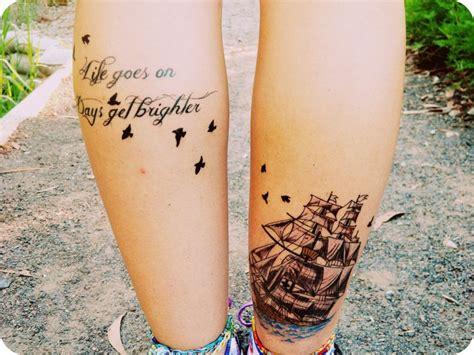 tattoo quotes about life going on 7 famous calf quotes tattoo