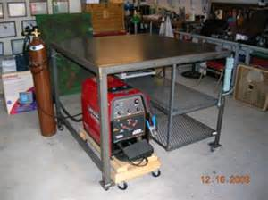 welding at home welding table build