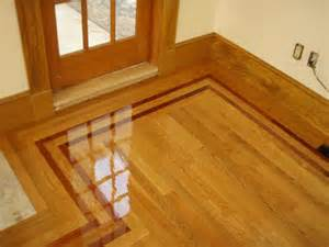 Hardwood Floor Border Design Ideas Contractor Sound Wood Vs Laminate House Counselor