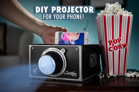 how to make a projector for your phone smartphone projector transform your mobile device into a big screen