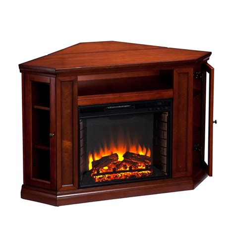 Electric Fireplace With Storage by Claremont Corner Convertible Media Center With Glass