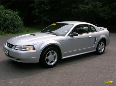1999 mustang interior 1999 silver metallic ford mustang gt coupe 33606604