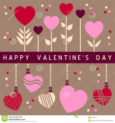 Happy Valentines Day 2 by Happy S Day Card 2 Stock Photos Image 27823413