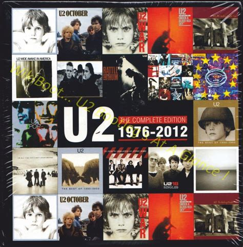 U2 The Complete Edition 1976 2012 19cds Album Box Set Diskon u2 album the complete edition 1976 2012