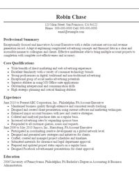 Resume Account Executive Objective Eye Grabbing Resume Objectives Sles Livecareer