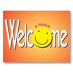 a warm smile and a warm welcome with hrdirect welcome cards