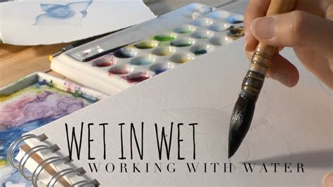 how to water color controlling the water how to use watercolor with